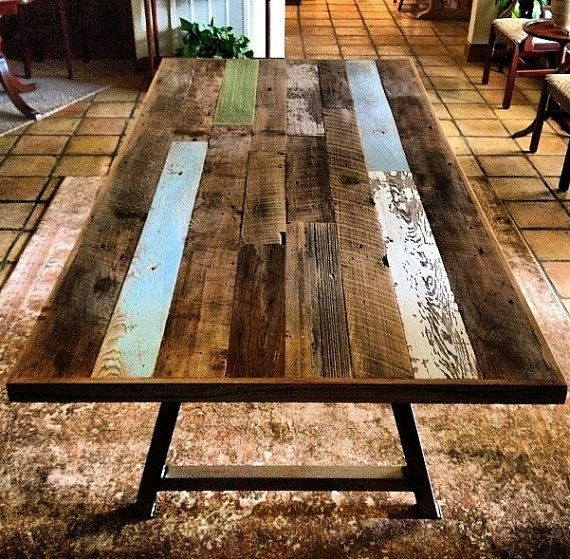 25 Reclaimed Wood Table Ideas