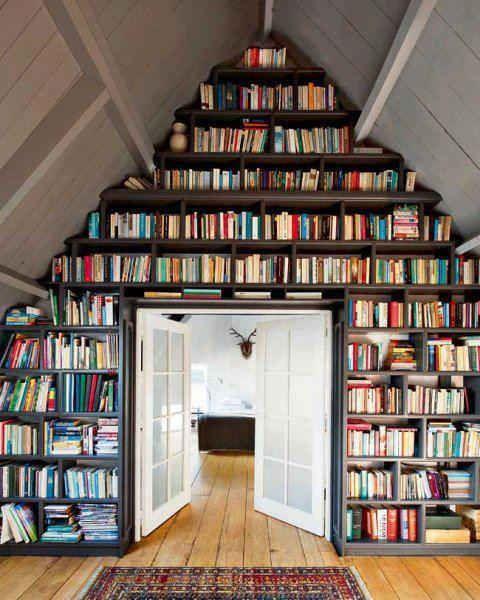 Ide Simpel Menata Rak Buku