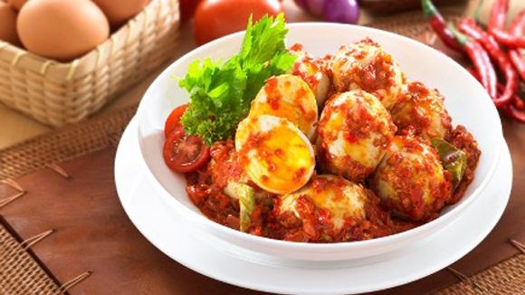 Telur Balado | http://kitabmasak.com