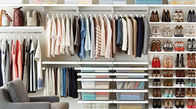 Menata Lemari Pakaian dengan Tepat| http://www.wowkeren.com