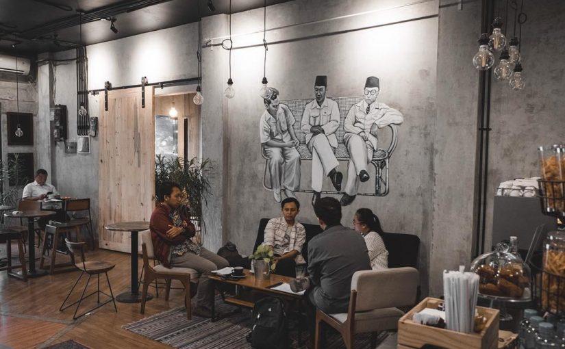 Diskusi Kopi dan Ruang Berbagi