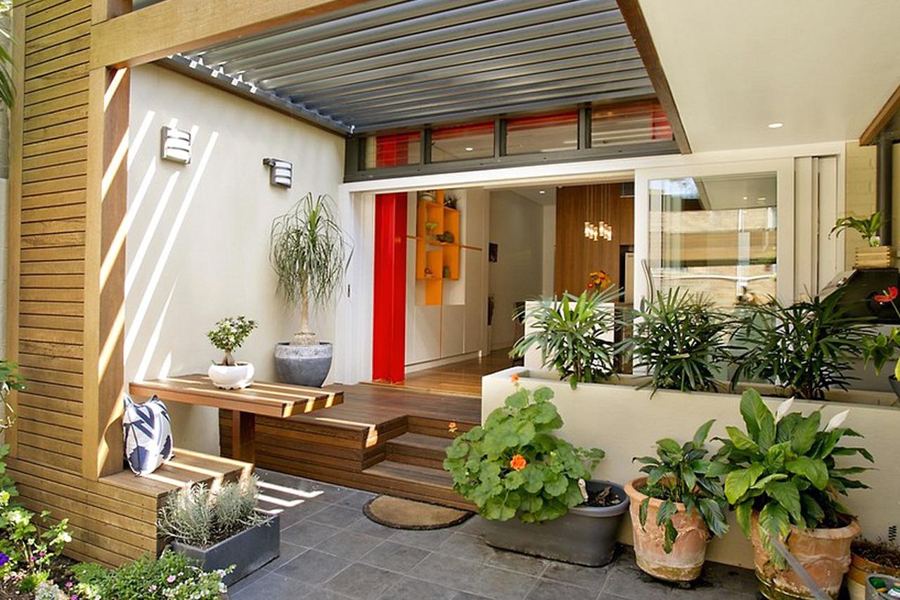 Ide Desain Teras Rumah Minimalis Lengkap dengan Gambar