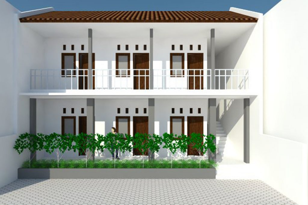 Gambar Desain Rumah Kos Modern Minimalis