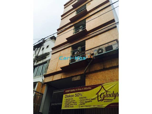 Kost Murah,Full Fasilitas dekat UnTar Jl.Satria Grogol Jakarta Barat