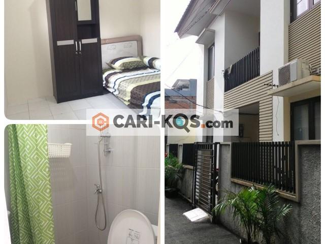 Kost Jl. Rambutan Barat V No. 17 - Tanjung Duren Utara (ButBarma)