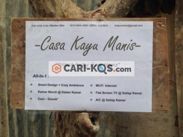 Casa Kayu Manis - Dekat Universitas Atma Jaya, GKBI, BRI I dan BRI II