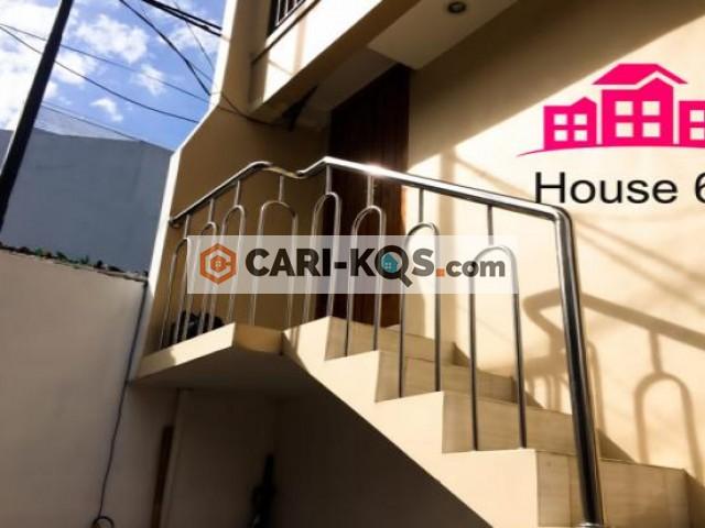 House 6  Jakarta Pusat - Dekat Stasiun Sudirman, Sarinah dan Pasar Blora