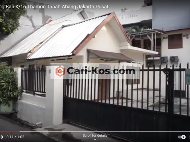 Kos Kampung Bali 10 no 16 Strategis Jakarta Pusat. 0816818076 / 087876303377