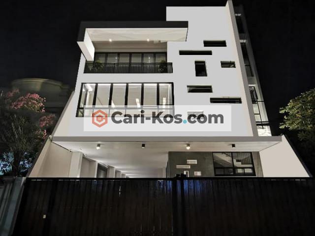 kost exclusive dengan parkir luas dan rooftop garden