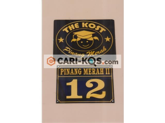 The Kost Pinang Merah 12
