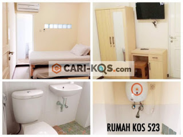 Rumah Kost 523 - Dekat Taman DPU Jati Baru Pangkalan 640, RPTRA Tanah Abang 3, dan Monas